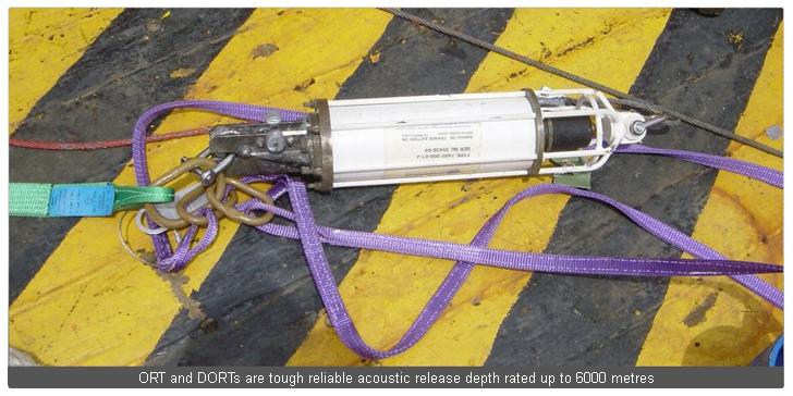 Acoustic Release Transponders  Instruments Sonardyne pic 1