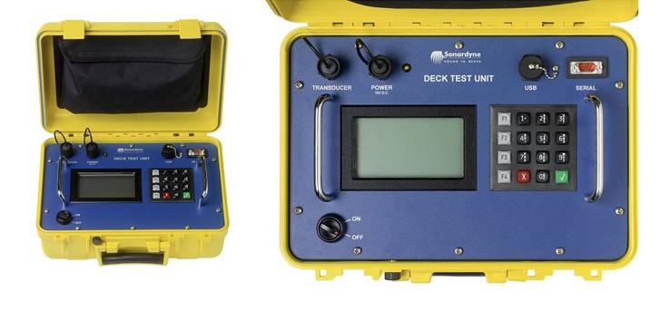 Deck Test Unit  Instruments Sonardyne pic 1