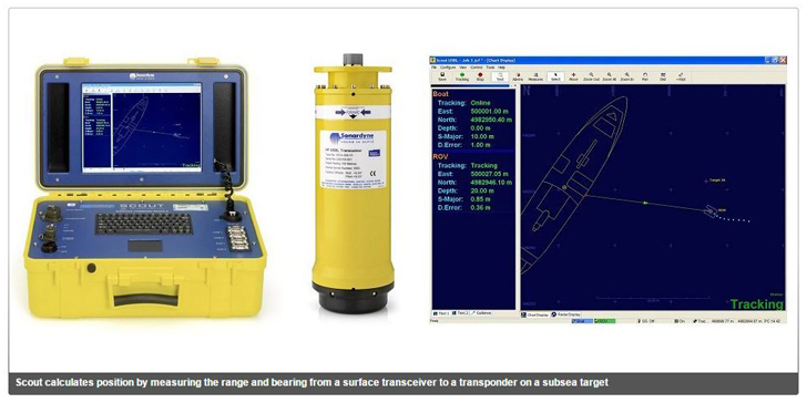 Scout USBL Tracking System  Systems Sonardyne pic 1