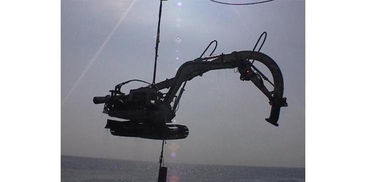subsea scavator control system